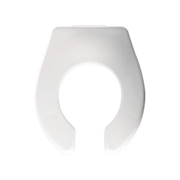 Bemis 126camt 000 Primary Plastic Toilet Seat Open Front