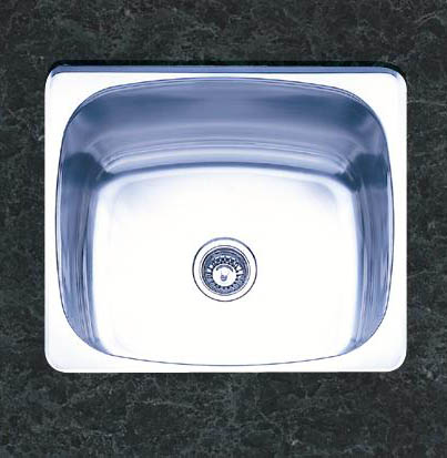 Oliveri 470 400 Series Single Basin Undermount Kitchen Sink Stainless Steel