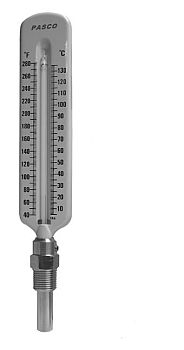 Pasco 1445 Straight Hot Water Thermometer