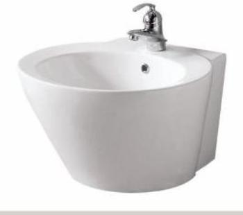 Pegasus 08-0010-W Luzern Wall Mounted Lavatory Sink - White