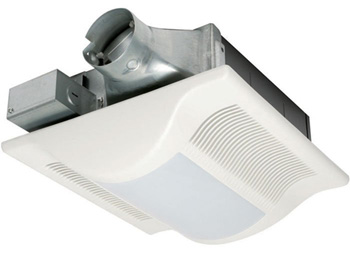 Panasonic FV-08VSL3 WhisperValue-Lite 80 CFM Super Low Profile Ventilation Fan with Light