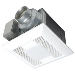 Panasonic FV-11VKL3 WhisperGreen-Lite 110 CFM Ceiling Mounted Ventilation Fan with DC Motor and Light
