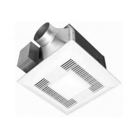 Panasonic 150 cfm exhaust fan with light best fan - Recommended cfm for bathroom fan ...