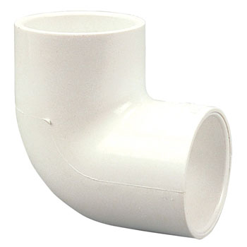 1 inch Slip x Slip 90 degree Elbow PVC Schedule 40 Pressure Fittings