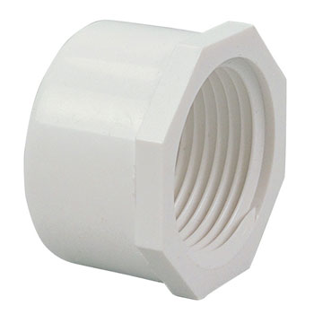 1 inch Cap FIPT PVC Schedule 40 Pressure Fittings