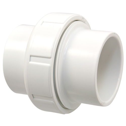 3 inch Slip x Slip x Slip Union PVC Schedule 40 Pressure Fittings