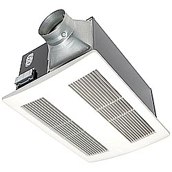 Panasonic fv 11vh2 whisperwarm 110 cfm ceiling mounted fan - Panasonic bathroom fans home depot ...