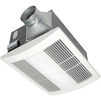 Panasonic FV-11VHL2 WhisperWarm 110 CFM Ceiling Mounted Fan/Heat/Light/Night-Light Combination