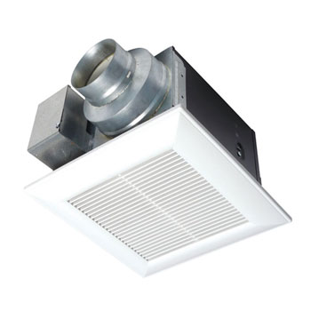 Panasonic FV-11VK3 WhisperGreen 110 CFM Ceiling Mounted Ventilation Fan with DC Motor