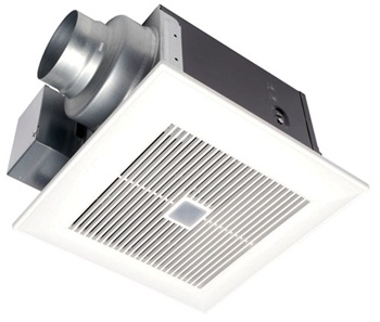 Panasonic FV-11VQC5 WhisperSense 110 CFM Ceiling Mounted Ventilation Fan with Dual and Humidity Sensor Technology