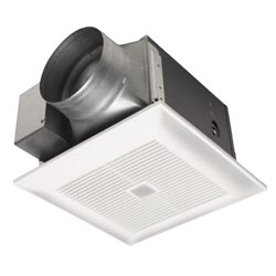 Panasonic FV-13VKM3 WhisperGreen 130 CFM Ceiling Mounted Ventilation Fan with DC Motor, Variable Speed Controls, and Motion Sensor