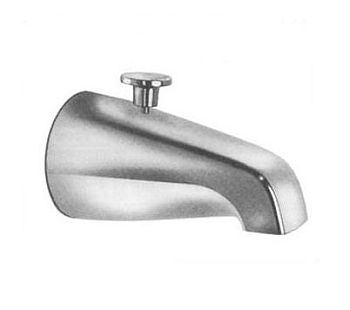 Pasco 2831 Tub Spout for Add-A-Shower - Chrome