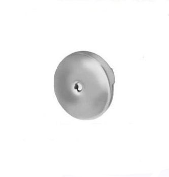 Pasco 1159 Overflow Plate with Screw - Chrome