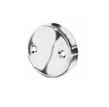 Pasco 1160 Overflow Plate - Chrome