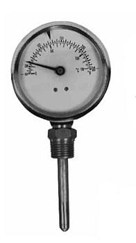 Pasco 1455 Dial Thermometer with 1/2