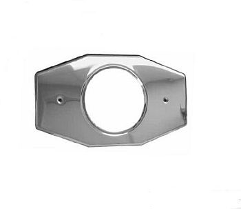 Pasco 820 Shower Valve Plate with No Holes - Stainless Steel