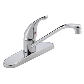 Peerless P110LF Single Handle Kitchen Faucet - Chrome
