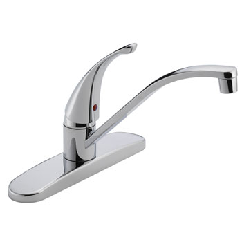 Peerless P188200LF Single Handle Kitchen Faucet - Chrome