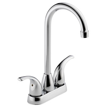 Peerless P288LF Two Handle Contemporary Bar Prep Faucet - Chrome