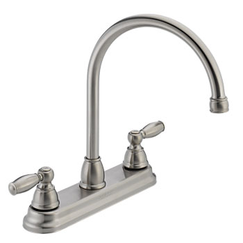 Peerless P299565LF-SS Two Handle Kitchen Faucet - Stainless Steel