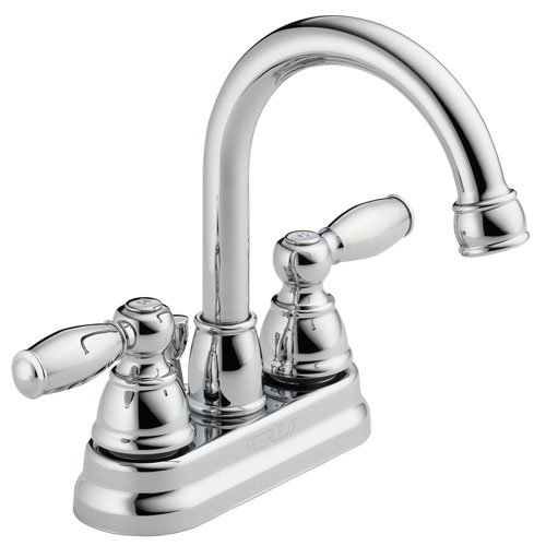 Peerless P299685LF Two Traditional Handle Neo Centerset Lavatory Faucet - Chrome