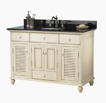 Foremost CTAA4822D Cottage 48 Inch Vanity Only - Antique White