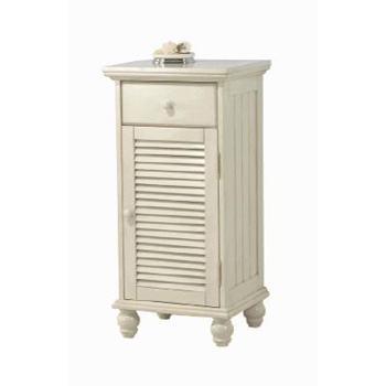Pegasus CTAF1735D Cottage Floor Cabinet - Antique White