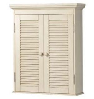 Pegasus CTAW2429 Cottage Wall Cabinet - Antique White