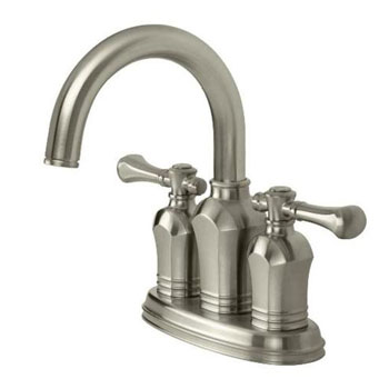 Pegasus 67113-8004 Verdanza Two Handle 4� Centerset Lavatory Faucet - Brushed Nickel