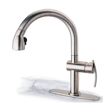 Pegasus AKPW591LFEX Arko Pull Out Spray - Brushed Nickel