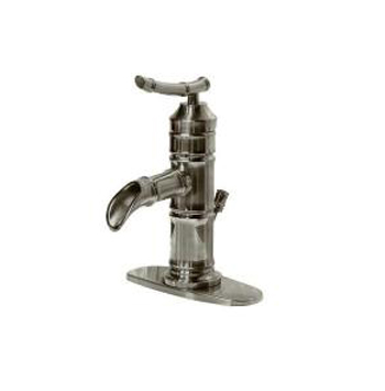 Pegasus 67109-8004 Bamboo 4 Inch Single Handle Lavatory Faucet - Brushed Nickel
