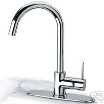 Pegasus 78PW572LFEX COX Single Handle Kitchen Faucet - Brushed Nickel (Pictured in Chrome)