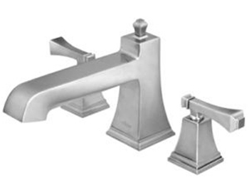 Pegasus 65601-8004 Exhibit Roman Tub Set - Brushed Nickel