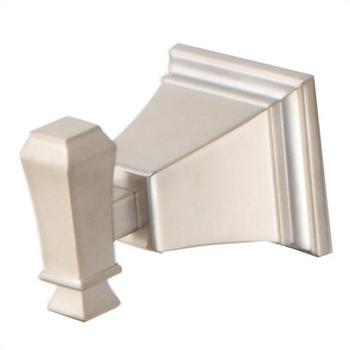 Pegasus 714A-0304 Exhibit Single Robe Hook Brushed Nickel