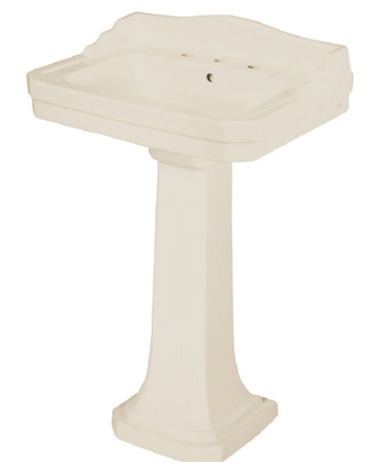 Pegasus L-1930-BI 1930 Series Pedestal Base Only - Biscuit