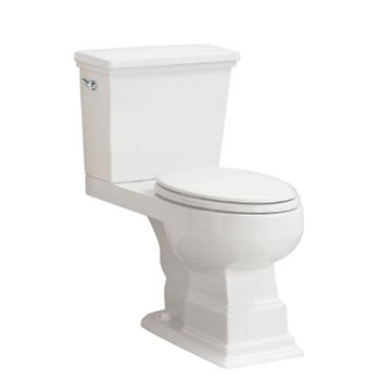 Pegasus LL-1950-EWH Structure Suite Elongated Toilet Bowl in White