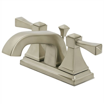 Pegasus F50B5213BNV 1500 Series Two Handle Centerset Lavatory Faucet - Brushed Nickel