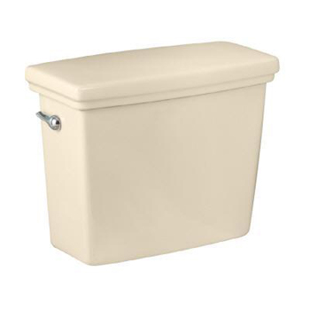 Pegasus T-1950-BI Structure Vitreous China Toilet Tank in Biscuit