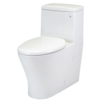 Pegasus TL-10PB-HET-EW Nitra One Piece All-in-One HET Toilet Elongated Comfort Height in White