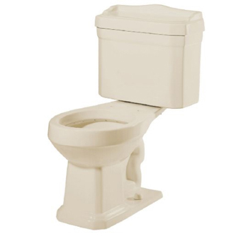 Pegasus TL-1930-BI Series 1930 Two Piece Round Toilet Combo in Biscuit