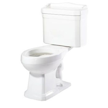 Pegasus TL-1930-EW Series 1930 Two Piece Elongated Toilet Combo in White