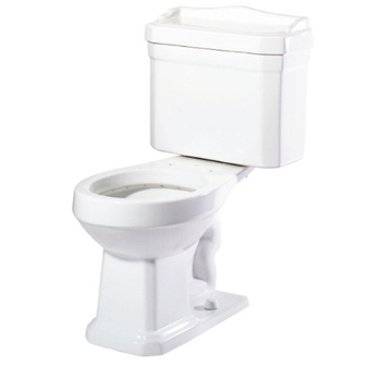 Pegasus TL-1930-W Series 1930 Two Piece Round Toilet Combo in White