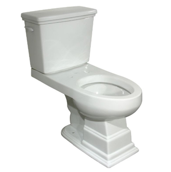 Pegasus TL-1950-EWH Structure Elongated Toilet, Comfort Height in White