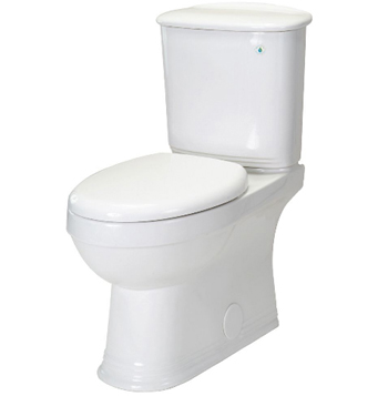 Pegasus TL-20PA-HET-EW Aden 2 Piece All in One HET Toilet, Elongated, Comfort Height in White