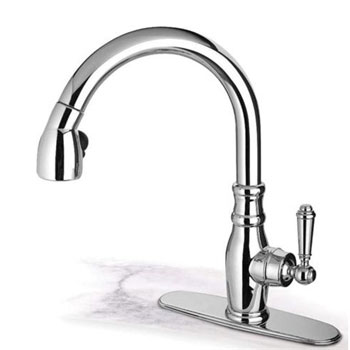 Pegasus USPW591ANTLF/HD Old Fashion Pull Down - Brushed Nickel (Pictured in Chrome)