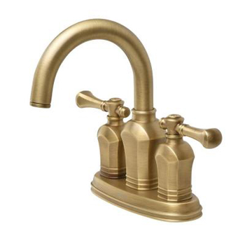Pegasus 67113-8024H Verdanza 4 Inch Two Handle Lavatory Faucet - Antique Brass