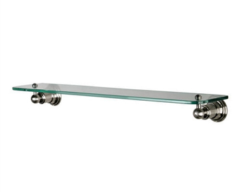 Pegasus 20735-1704 Verdanza Glass Shelf Brushed Nickel