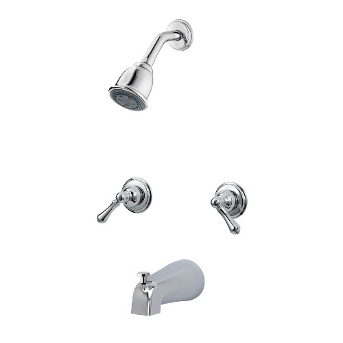 Price Pfister 03-81BC Savannah Two Metal Lever Handle Tub/Shower ...