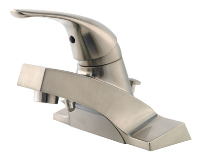 Price Pfister G142-600K Pfirst Series Lavatory Centerset Faucet - Brushed Nickel