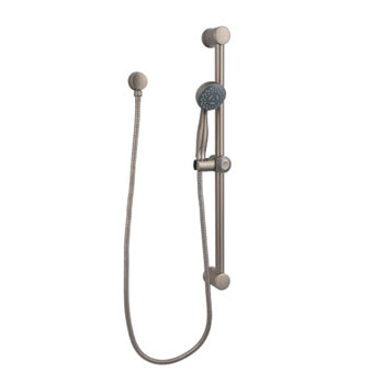 Price Pfister 16-300E Handheld Shower with Slide Bar Package Rustic Pewter